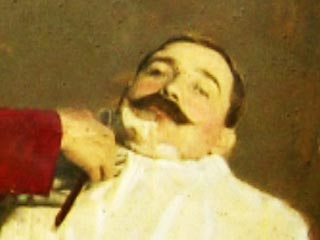 Still from The Demon Barber of Bedminster